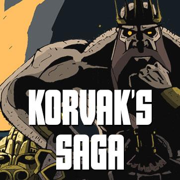 Link to Korvaks Saga in Dwarfen Tales
