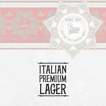 Italian Premium Lager Lager range