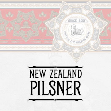 New Zealand Pilsner Lager Range